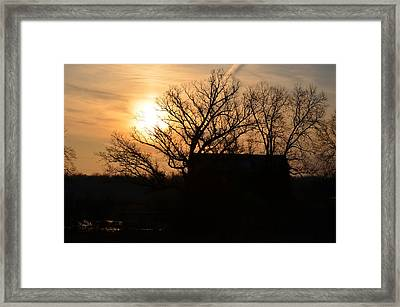 March Sunrise2 Framed Print by Jennifer  King