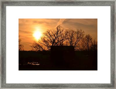March Sunrise4 Framed Print by Jennifer  King