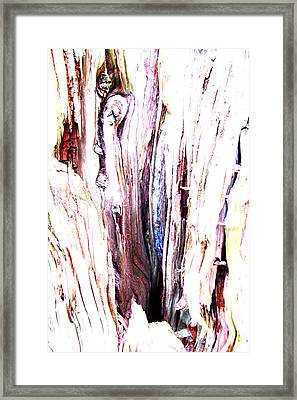 March Wood Framed Print by James Whitworth