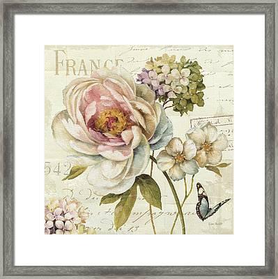 Marche De Fleurs IIi Framed Print by Lisa Audit
