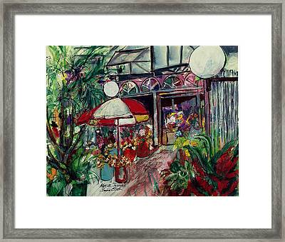 Marche Journee Framed Print