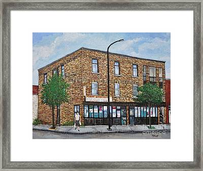 Marche Quenneville Today Framed Print by Reb Frost