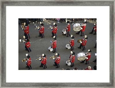 Marching Band Framed Print by Matthias Hauser