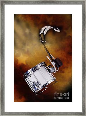 Marching Band Snare Drum Photograph In Color 3329.02 Framed Print