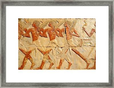 Marching In Triumph Framed Print by Brenda Kean