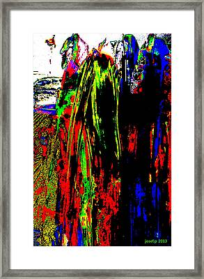 Marching To The Last Sacrifice Framed Print by Sir Josef - Social Critic -  Maha Art
