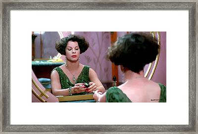 Marcia Gay Harden As Verna Bernbaum In The Film Miller S Crossing By Joel And Ethan Coen Framed Print