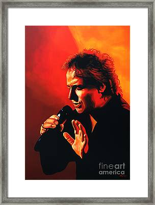 Marco Borsato Framed Print by Paul Meijering