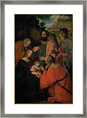 Marco Doggiono , Giovanni Agostino Da Framed Print