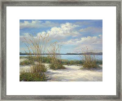 Marco Island Framed Print by Laurie Hein