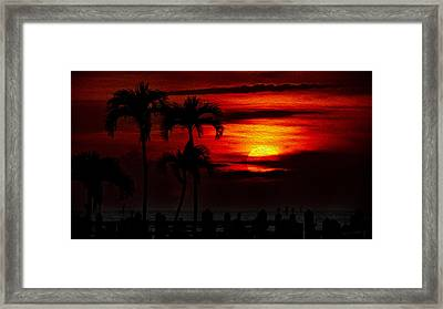 Marco Island Sunset 59 Framed Print by Mark Myhaver