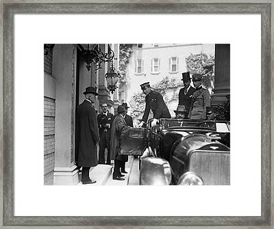 Marconi As High Commissioner Framed Print