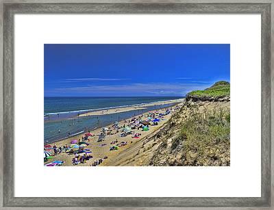 Marconi Beach National Seashore Cape Cod 2 Framed Print