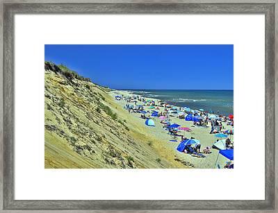 Marconi Beach National Seashore Cape Cod Framed Print