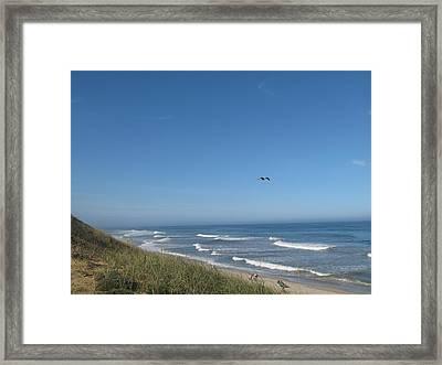 Marconi Beach Wellfleet Ma Framed Print