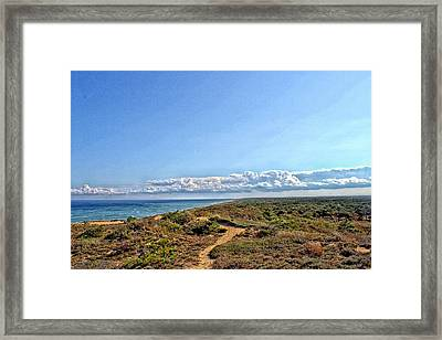 Marconi Station View Cape Cod Framed Print