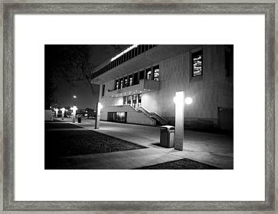 Marcus Center For The Performing Arts Framed Print by Ricky L Jones