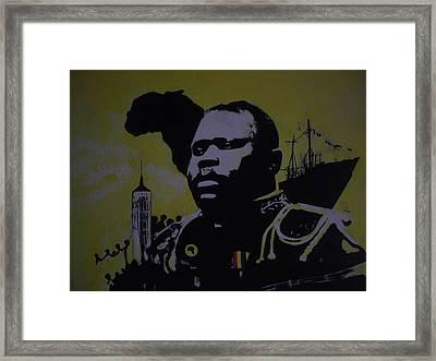 Marcus Garvey #2. Framed Print by Robert Cunningham
