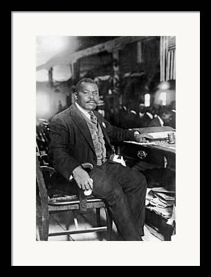 Marcus Garvey Framed Prints