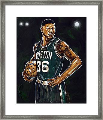 Marcus Smart Framed Print by Dave Olsen