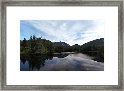 Marcy Dam Pond Framed Print