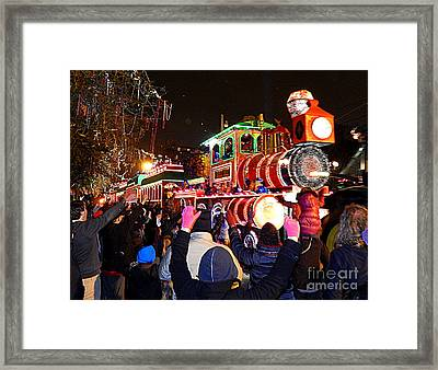 New Orleans Mardi Gras 2014 Orpheus Super Float Smokey Mary Framed Print