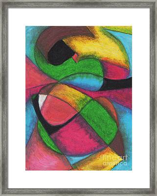 Mardi Gras Framed Print by Ellen Howell