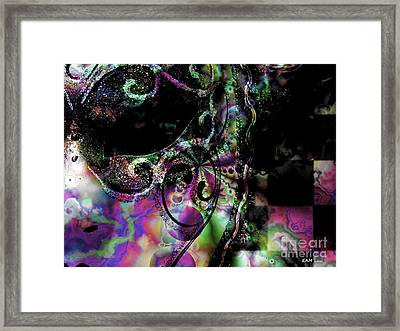 Mardi Gras In New Orleans / Krewe Of Second Born Framed Print