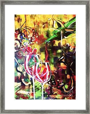 Mardi Gras Framed Print by Lisa Owen-Lynch