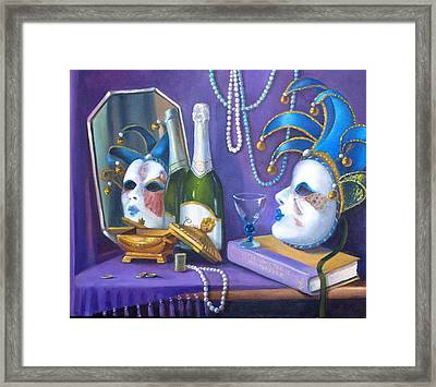 Mardi Gras Framed Print by Rich Kuhn