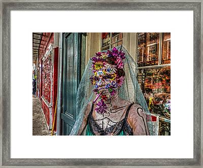 Mardi Gras Voodoo In New Orleans 2 Framed Print by Louis Maistros