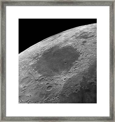 Mare Crisium Framed Print by Damian Peach