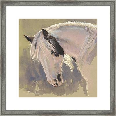 Mare With A Halo Framed Print