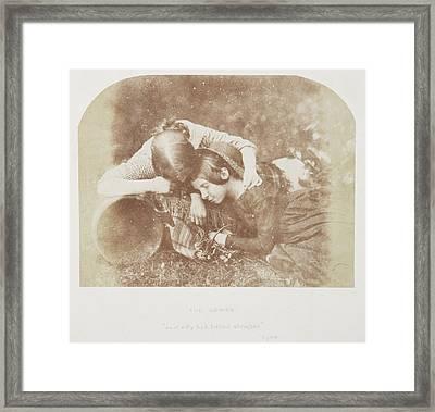 Margaret And Mary Mccandlish Framed Print