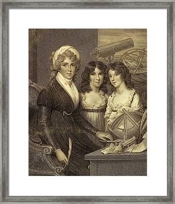 Margaret Bryan Framed Print by Carl H. Pforzheimer Collection/new York Public Library