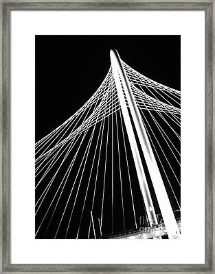 Framed Print featuring the photograph Margaret Hunt Hill Bridge by Cheryl McClure