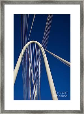 Margaret Hunt Hill Bridge Framed Print by Elena Nosyreva