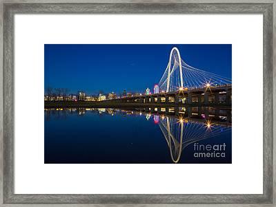 Margaret Hunt Hill Bridge Framed Print by Inge Johnsson