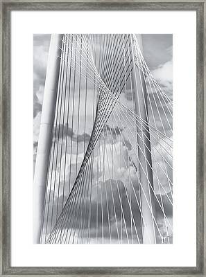 Margaret Hunt Hill Bridge Framed Print by Joan Carroll