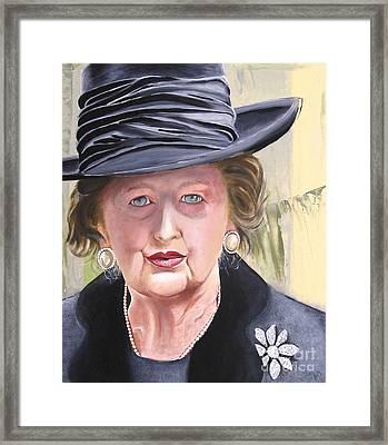 Margaret Framed Print by Martin Davis