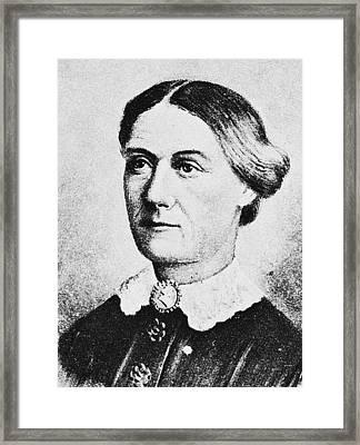 Margaret Taylor (1788-1852) Framed Print by Granger