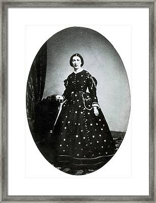 Margaret Taylor, First Lady Framed Print by Science Source