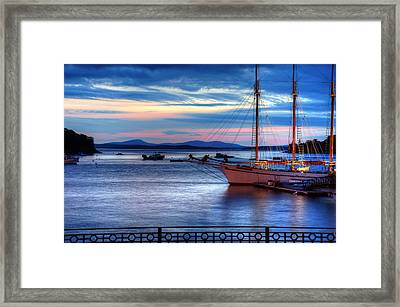 Margaret Todd At Sunrise Framed Print