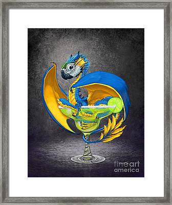 Margarita Dragon Framed Print