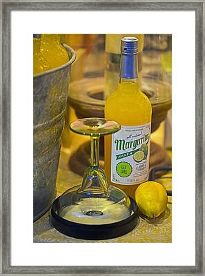 Margarita Mix Framed Print