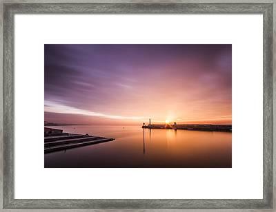 Margate Sunset Framed Print