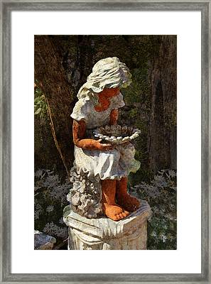 Marguerite Framed Print by Carla Parris