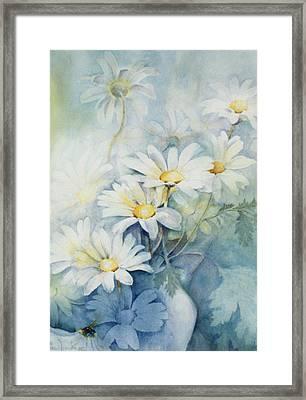 Marguerites, Alexandria Framed Print