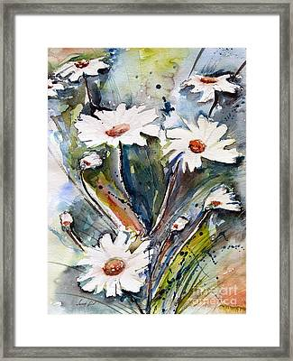 Marguerites Framed Print