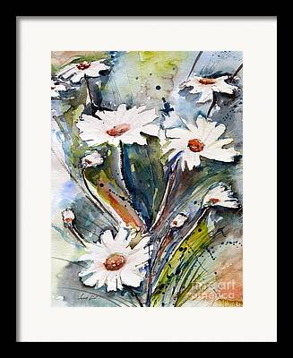 Paint With Aquerelle Framed Prints